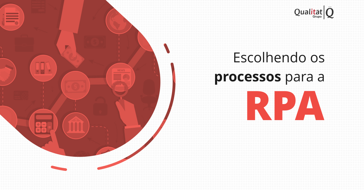 Definindo processos para a RPA