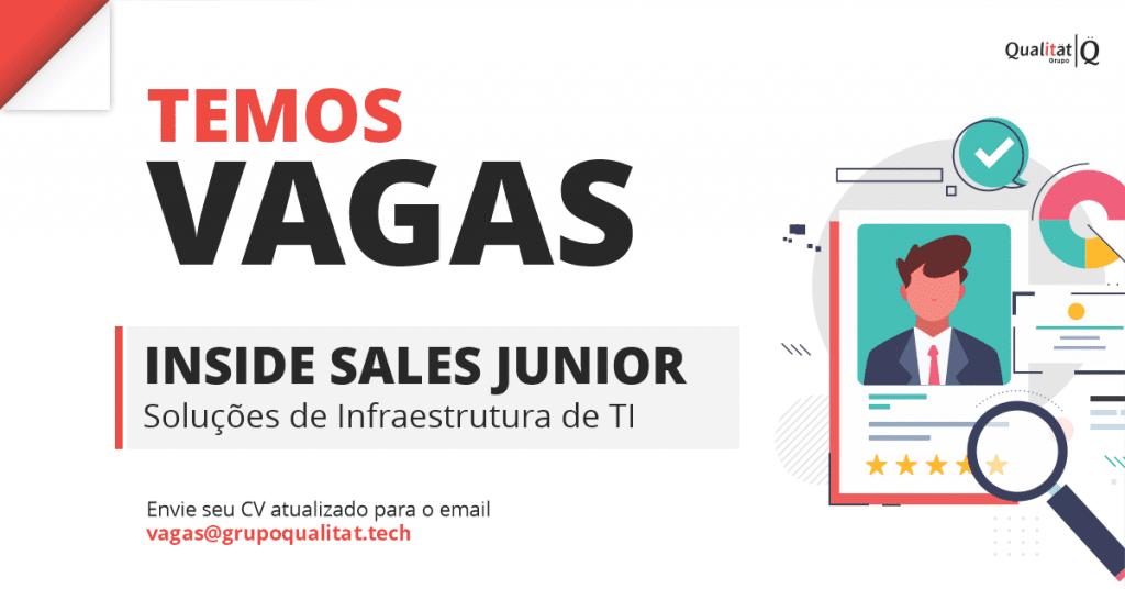 Vaga Inside Sales Junior